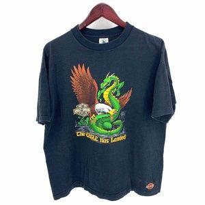 Harley Davidson Eagle Dragon Vintage T-Shirt 1988